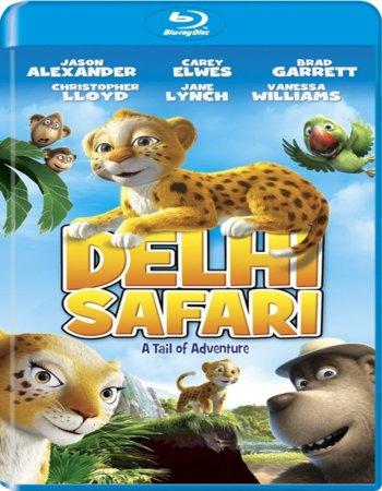 Delhi Safari (2012) Dual Audio Hindi 480p BluRay 300MB
