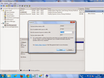 Cara  Membagi Partisi baru Hardisk windows xp