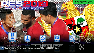PES 2019 PPSSPP Ukuran Kecil 300MB Offline Android | Graphics hd (NEW TRANSFER) TIMNAS INDONESIA U22