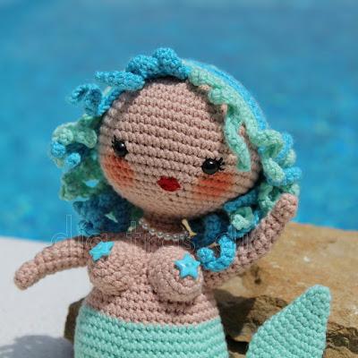 Sirena amigurumi