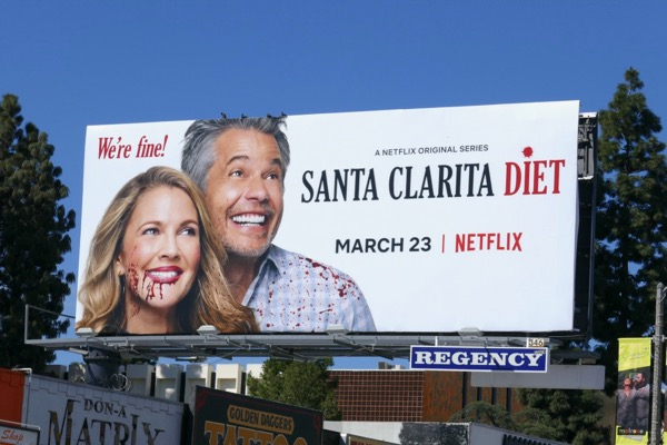 Santa Clarita Diet season 2 Were fine billboard