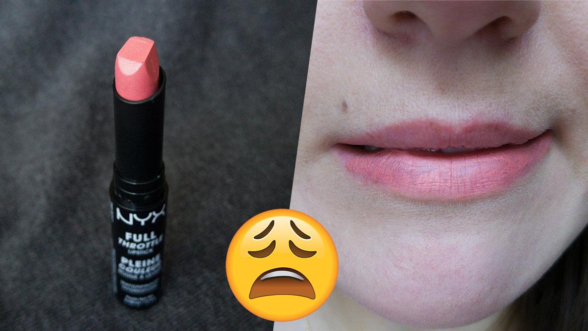 NYX Full Throttle lipstick in Sidekick, NYX ruž za usne, recenzija, utisci, cena, gde kupiti