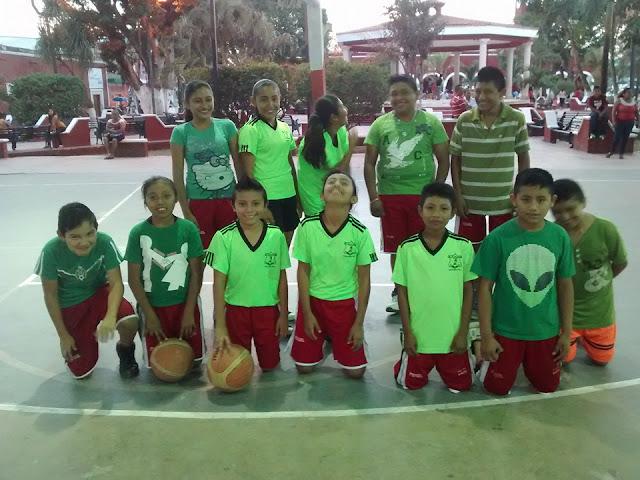 escuela de  basquet