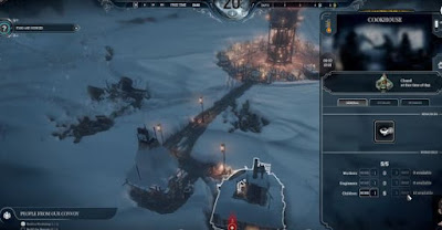 Frostpunk, Upgrade Generator, Improve Heat Efficiency