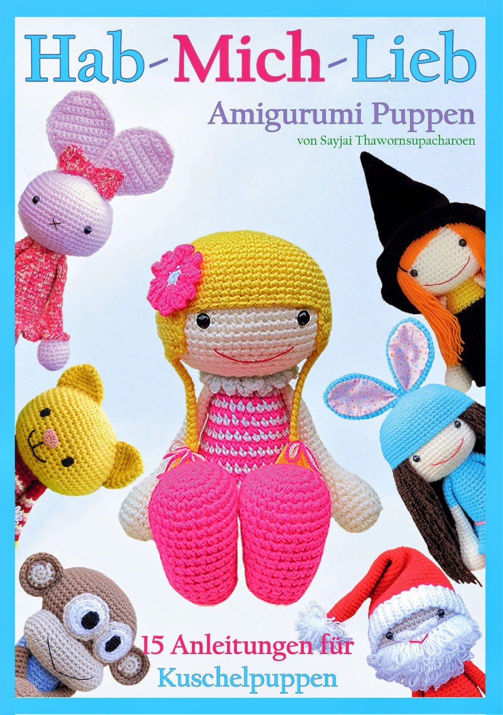 The Book: Fun and Easy Amigurumi | Amilovesgurumi | 1421x1000