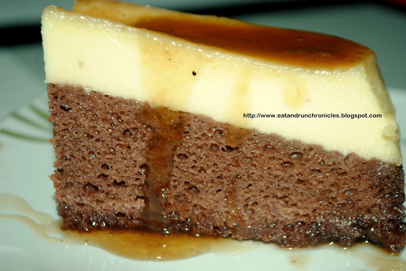 Eat And Run Chronicles Choco Flan Recipe Impossible Cake