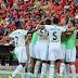 Sete gols: Coritiba vence Sport na Ilha do Retiro