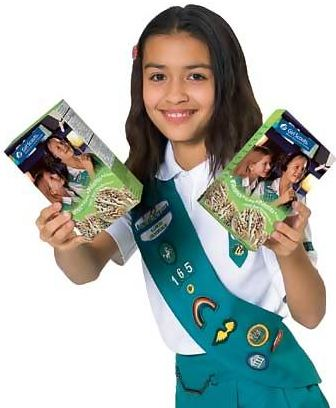 forget the thin mints now girl scouts learning to be