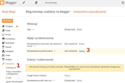 Jak zmienić stronę główną bloga, tak by nie wyświetlała postów tylko stronę