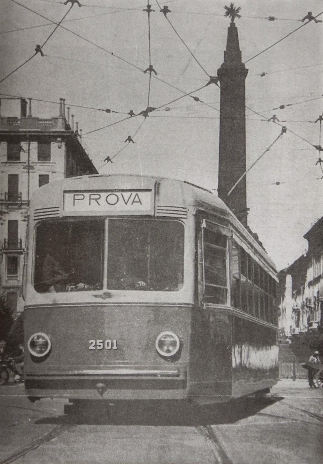 tram milano 2500