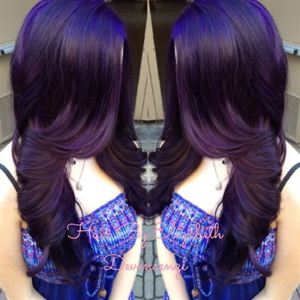 Amazing Violet Hairstyles