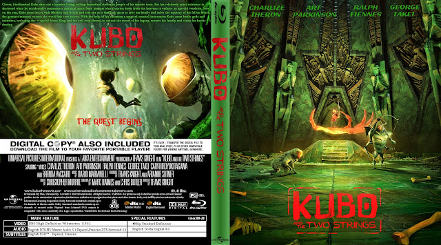Capa Bluray Kubo And The Two Strings