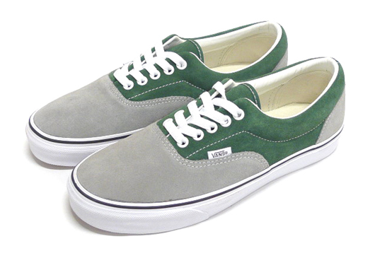 The Vans Era deck shoe is seen in two different two-tone suede options 323ba2fa1