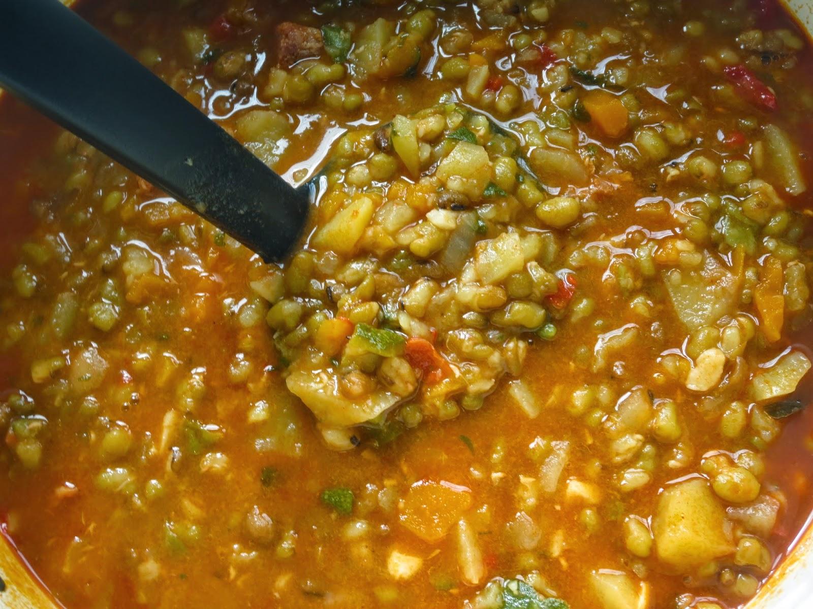 Como Cocinar Soja Verde | Potaje De Soja Verde Olla Gm