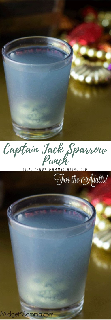 Captain Jack Sparrow Punch #drinkrecipe #freshsmoothie