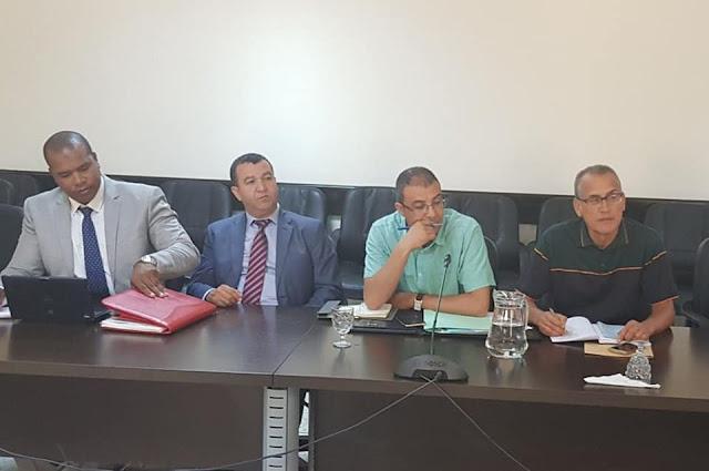 انطلاق اجتماع لجنة الملفات التدبيرية بين الوزارة والنقابات التعليمية