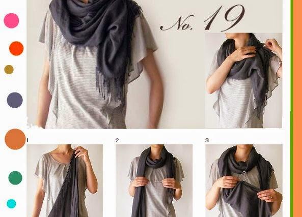 60 formas de ponerse un pañuelo tutoriales