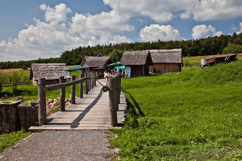 Huta Szklana, świętokrzyskie, osada średniowieczna