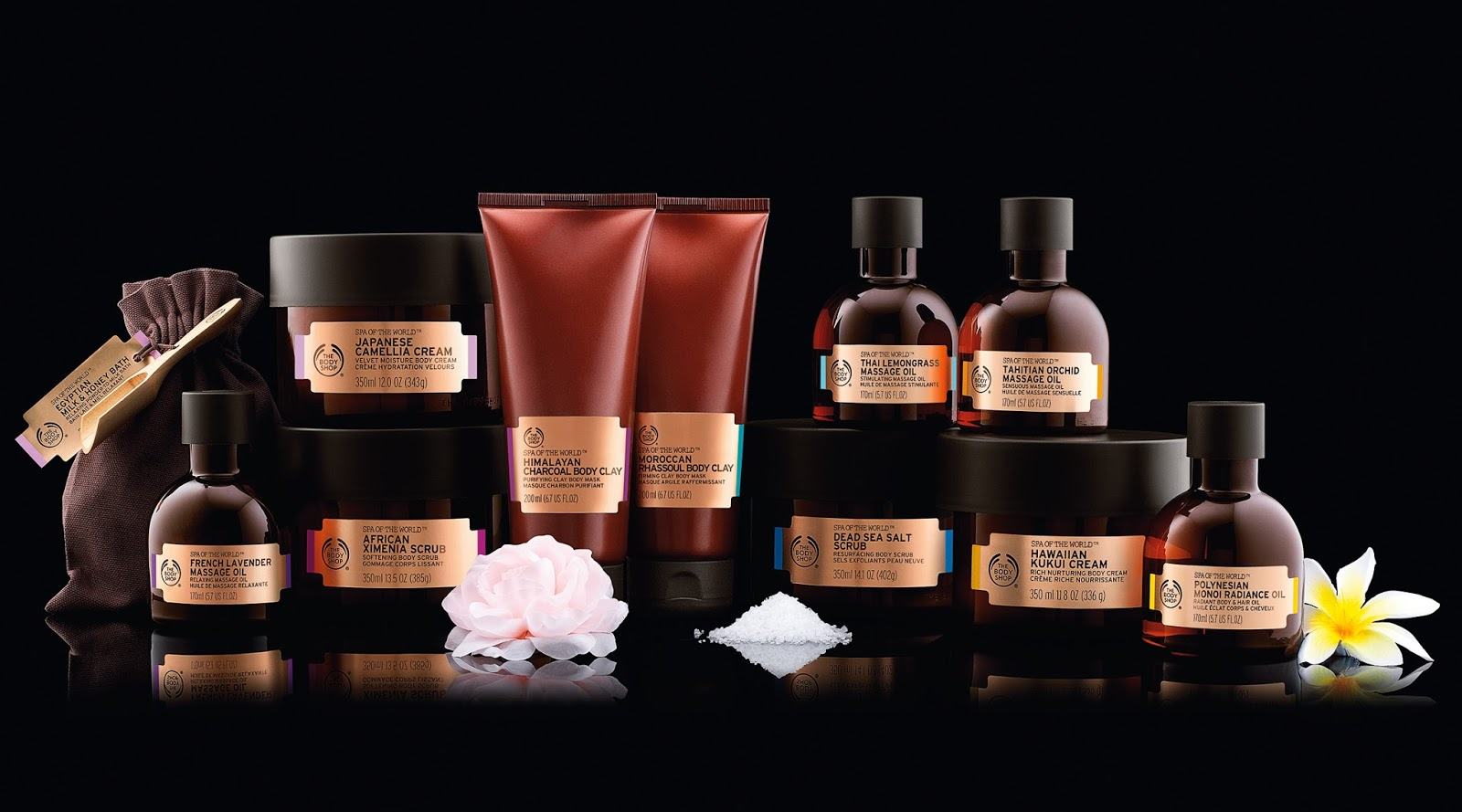 The Body Shop Spa of The World Collection | What Laura Did Next