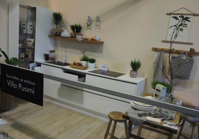 Åblogitalon keittiö Rakenna ja Sisusta -messuilla