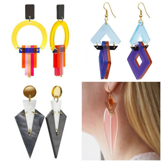 Toolally statement earrings