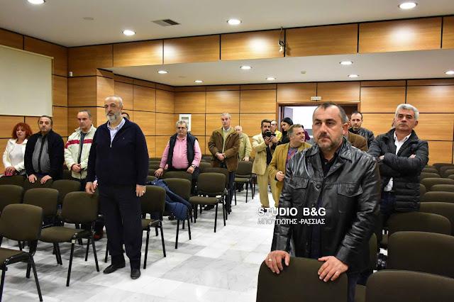 Η Ένωση Γραφείων Κηδειών Πελοποννήσου έκοψε βασιλόπιτα και ευχήθηκε καλές δουλειές  (video) DSC 4401PITA