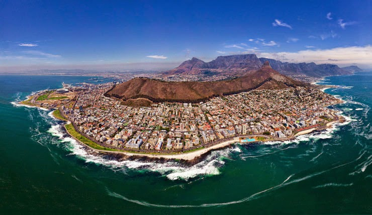 17. Cape Town, South Africa - 30 Best and Most Breathtaking Cityscapes