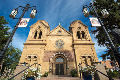 Cathedral Basilica of St Francis of Assisi Santa Fe New Mexico by Laurence Norah-2