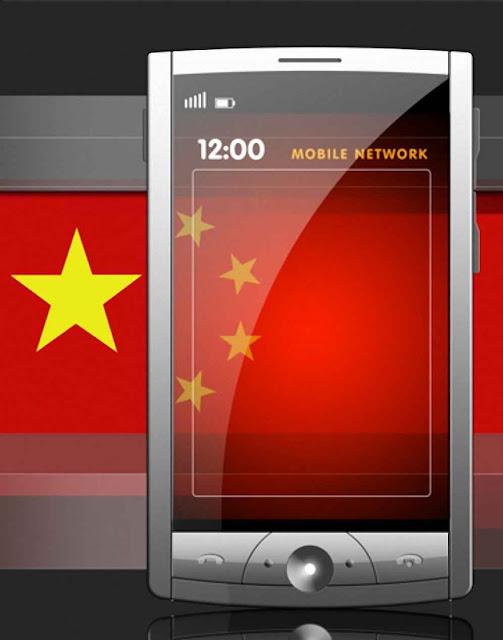 Os smarphones enviavam dados sensíveis a uma central em Shangai.