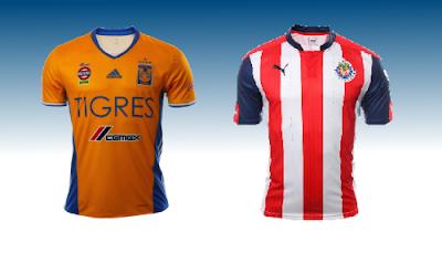 Previa Tigres vs Chivas del futbol mexicano jornada 10