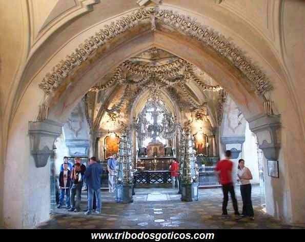 igreja,catedral,ossário,caveiras,arte,goticos