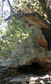 chumash painted cave, santa barbara