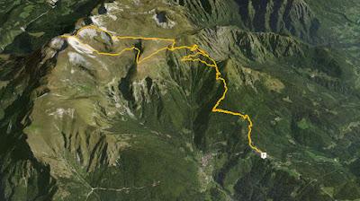 GPS Monte Pavione
