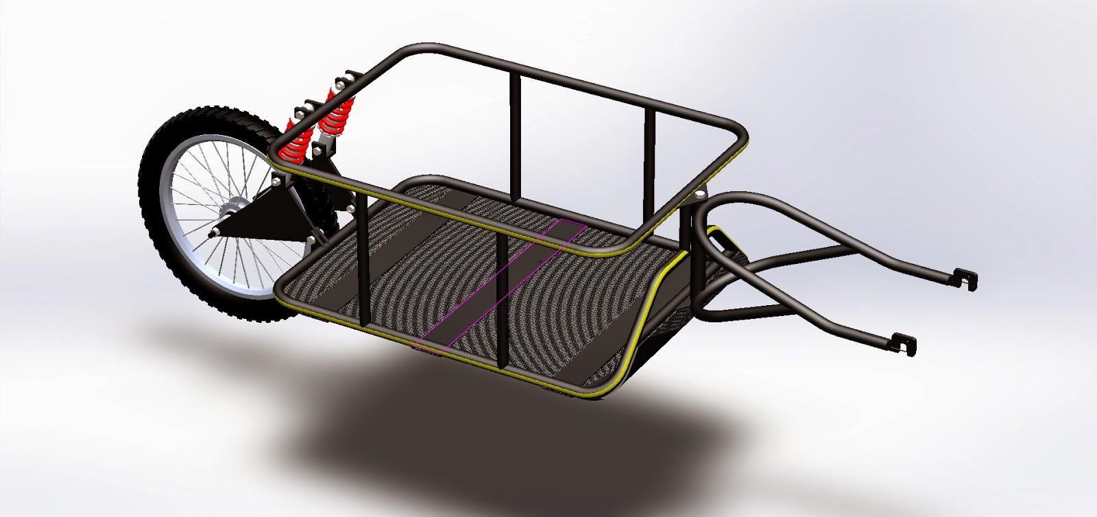 Mae 471472 Senior Design Project Bike Trailer February 2014