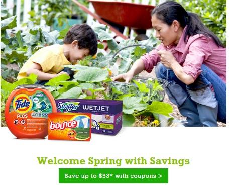 P&G Spring Into Savings Coupons