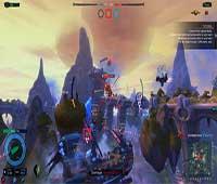 لعبة حرب سفن الهواء قراصنة الغيمة Cloud Pirates