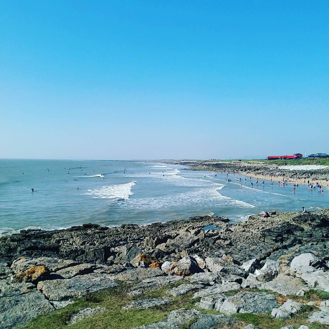 This is a picture of rest bay in porthcawl