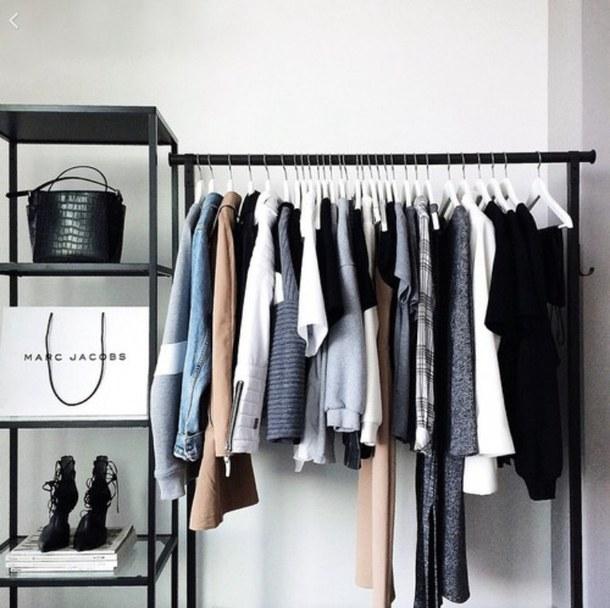clothing rack diy