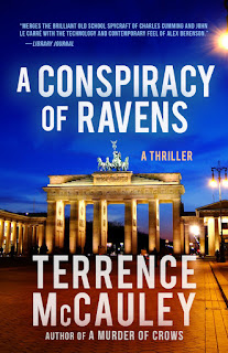 https://www.amazon.com/Conspiracy-Ravens-James-Hicks-ebook/dp/B01MTCE7B2/ref=sr_1_2?ie=UTF8&qid=1504548355&sr=8-2&keywords=a+conspiracy+of+ravens