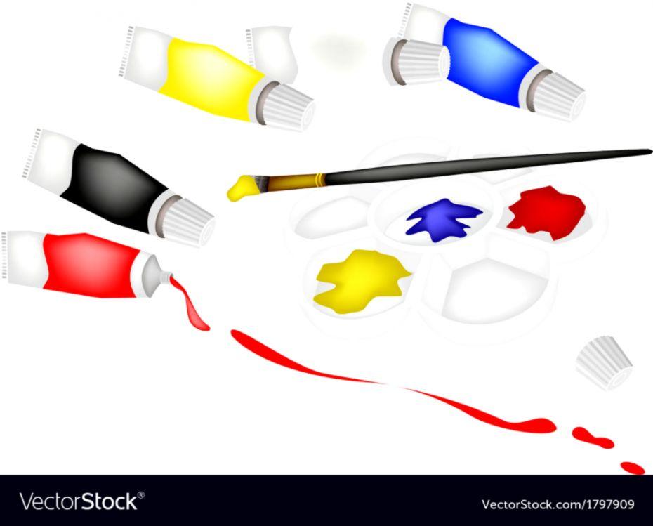 Ipad Retina Wallpaper Art Pain Brush: Art Color Paint Brush Photo