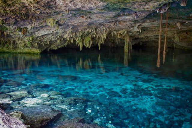 Dos Ojos cenote, Quintana Roo, Mexico