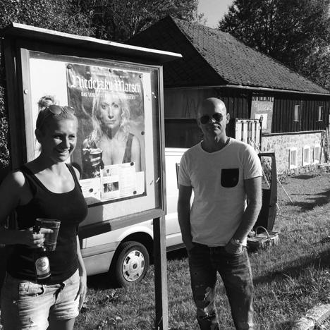 Peter Grünzweil & Angelika Niedetzky in der Gallerie Lämmersdorf