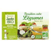 Bouillons de légumes Jardin Bio