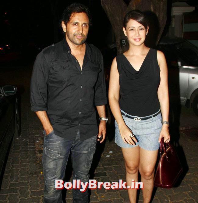 Pravin Dabas and Preeti Jhangiani, Ekta Kapoor Party Pics
