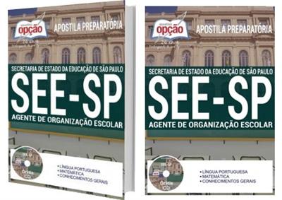 Apostila SEE-SP 2018 - Agente de Organização Escolar