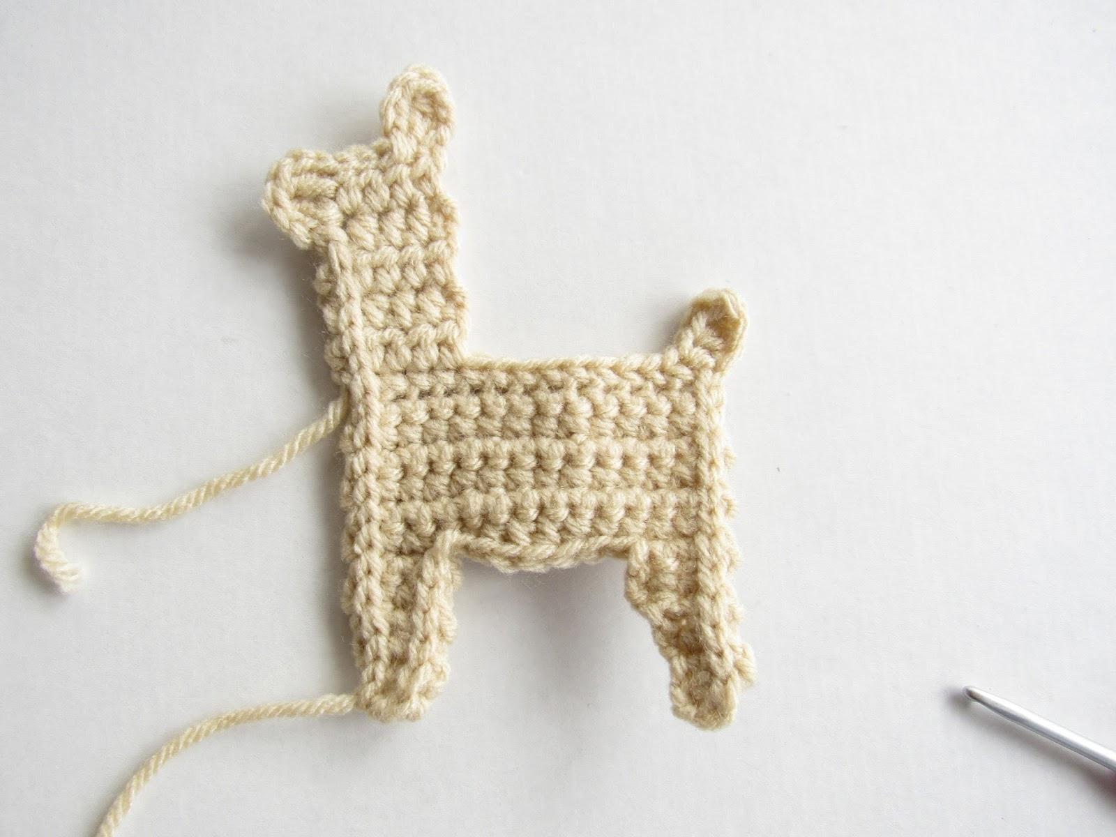 DIY Amigurumi Easily knit AMIGURUMI lama – alpaca [ tuto tricot ...   1200x1600