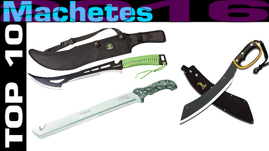 Top 10 Review Products-Top 10 Machetes 2016