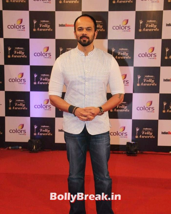 Rohit Shetty, Pics on Red Carpet of 13th Indian Telly Awards 2014