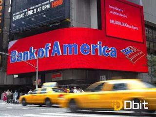 بنك أمريكا يتقدم بطلب براءة اختراع لصرافات آلية تعمل بتقنية البلوكشين