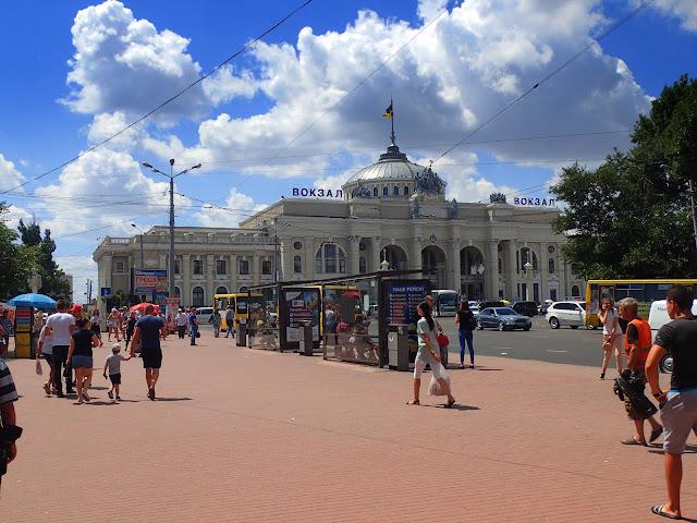 Dworzec kolejowy Odessa Główna (Odesa Holovna)